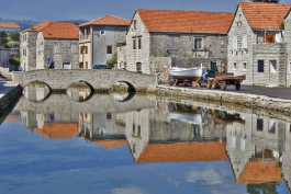 Bridges in Vrboska